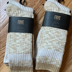 Frye Boot Socks | Super Soft 4 pairs NWT